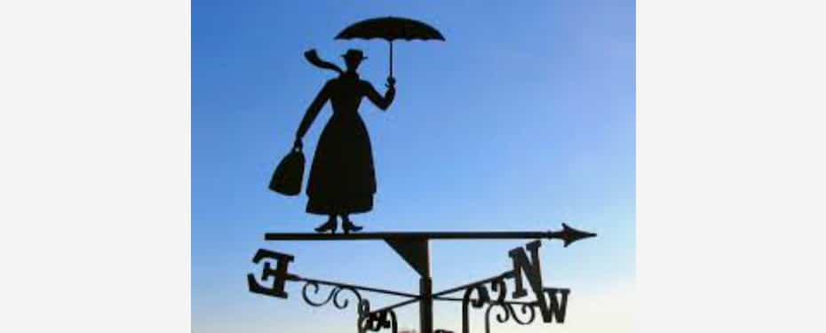 Mary Poppins and The Cambridge Wine Blogger