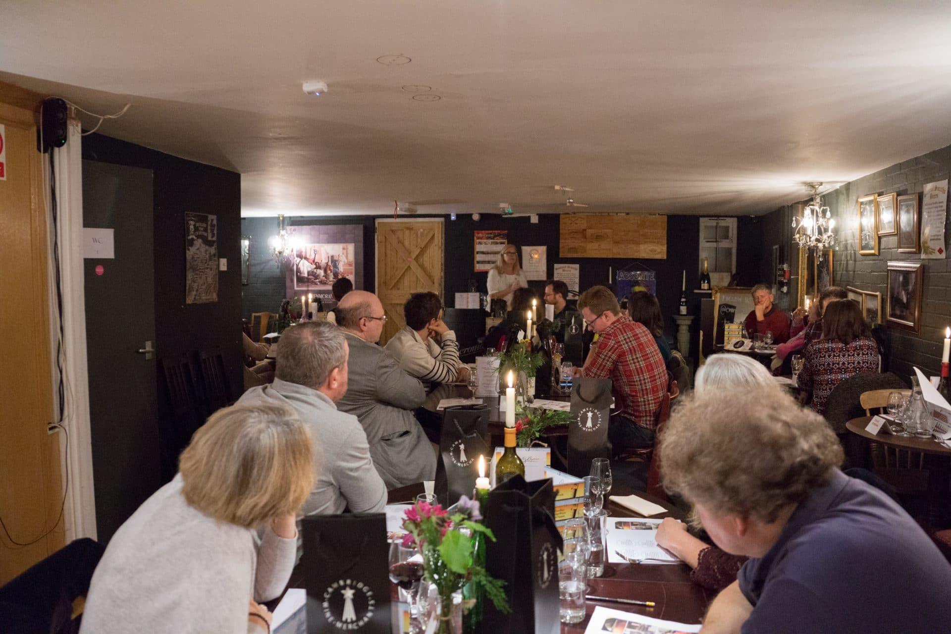 Sherry tasting at Cambridge Wine Merchants Cherry Hinton Road