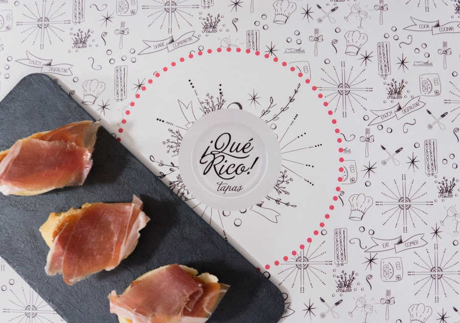 Jamón, a delicacy from Spain
